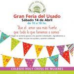 Próximo 14 de Abril Feria del Usado