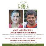 El Domingo 5 de Agosto  egresaron  José Luis y Jesús